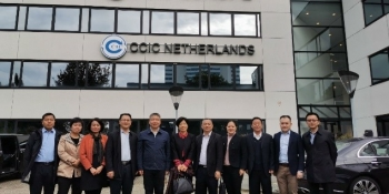 A delegation from Hainan Province visited CCIC Europe to discuss cooperation opportunities img